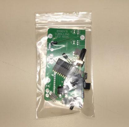 Scrolling LED Sign kit V1.0