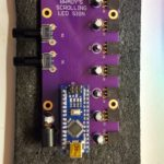 Brady's Scrolling LED Sign PCB