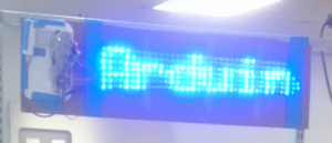 Brady's prototype Scrolling LED Sign