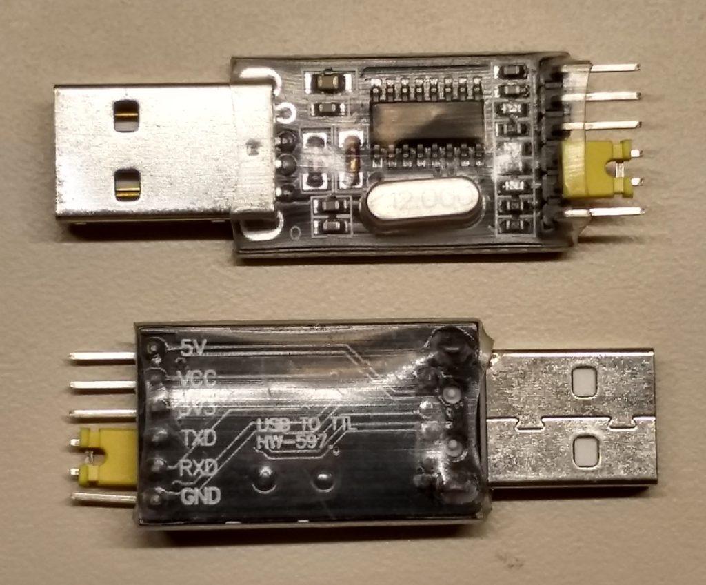 USB-TTL adapter