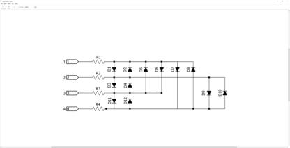 12LEDcircle schematic diagram
